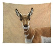 Young Pronghorn Tapestry