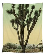 Yucca Cactus At Hesperia California Tapestry