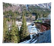 Yukon Railroad 3 Tapestry