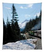 Yukon Railroad Tapestry