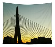 Zakim Bridge Silhouette Tapestry
