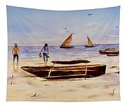 Zanzibar Forzani Beach Tapestry