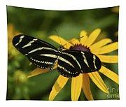 Zebra Butterfly Tapestry