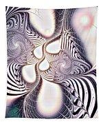 Zebra Phantasm Tapestry