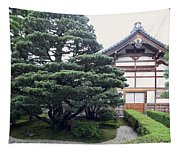 Zen Priests Quarters - Kyoto Japan Tapestry
