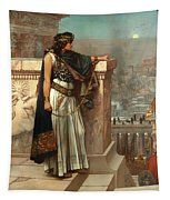 Zenobia's Last Look On Palmyra Tapestry