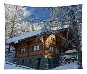 Zermatt Chalet Tapestry