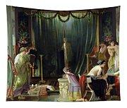 Zeuxis Choosing A Model For Helen Tapestry