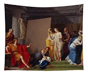 Zeuxis Choosing His Models For The Image Of Helen From Among The Girls Of Croton Tapestry