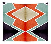 Zig Zag Angles 3 Tapestry