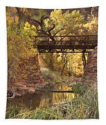 Zion Bridge Tapestry