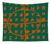 Zodiac Killer Code And Sign 20130213p28 Tapestry