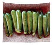 Zucchinis Tapestry