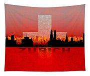 Zurich City Tapestry