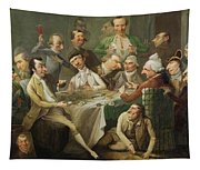 A Caricature Group Tapestry