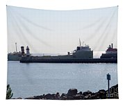 Alpena Ship Tapestry