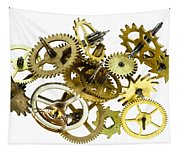 Clockwork Mechanism Tapestry