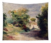Landscape Near Cagnes Tapestry