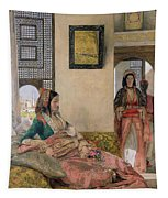 Life In The Harem - Cairo Tapestry
