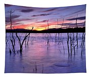 Purple Lake  Tapestry