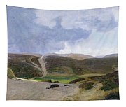 Scandinavian Landscape  Tapestry