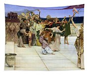 A Dedication To Bacchus Tapestry