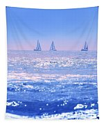 A Good Day For Sailing Tapestry