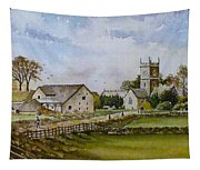 A Sunday Stroll Tapestry