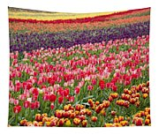 A Tulip Field Tapestry