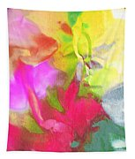 Abstract Garden Impressions Tapestry
