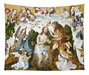 Baptism Of Christ Tapestry