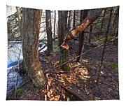 Beaver Marks Tapestry