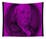 Ben Franklin In Purple Tapestry