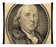Ben Franklin In Sepia Tapestry