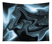 Blue Abstract Tapestry