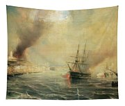 Bombardment Of Sale Tapestry