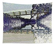 Bridge Across The River Tapestry