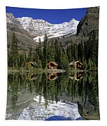 Cabins, Sargents Point, Lake Ohara Tapestry