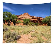 Capitol Reef Castle Tapestry