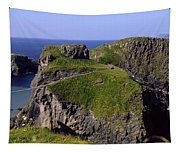Carrick-a-rede Rope Bridge, Co. Antrim Tapestry
