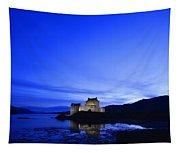Castle In Scotland Tapestry