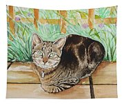 Cat Commission Sample Tapestry