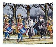 Charles I's Last Walk Tapestry