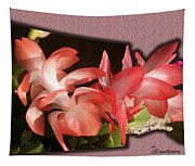 Christmas Cactus Tapestry