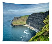 Cliff Of Moher 31 Tapestry