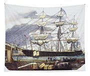 Clipper Ship, 1851 Tapestry