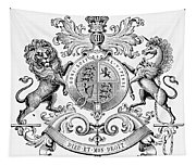 Coat Of Arms: Great Britain Tapestry