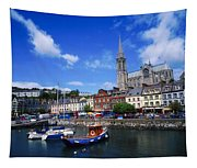 Cobh Cathedral & Harbour, Co Cork Tapestry