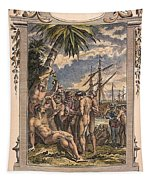 Columbus: Native Americans Tapestry
