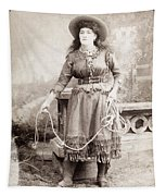 Cowgirl Tapestry